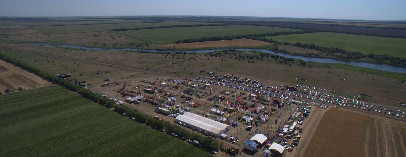 День поля «Волгоградагро» — демонстрационная выставка-показ сельскохозяйственной техники в полевых условиях