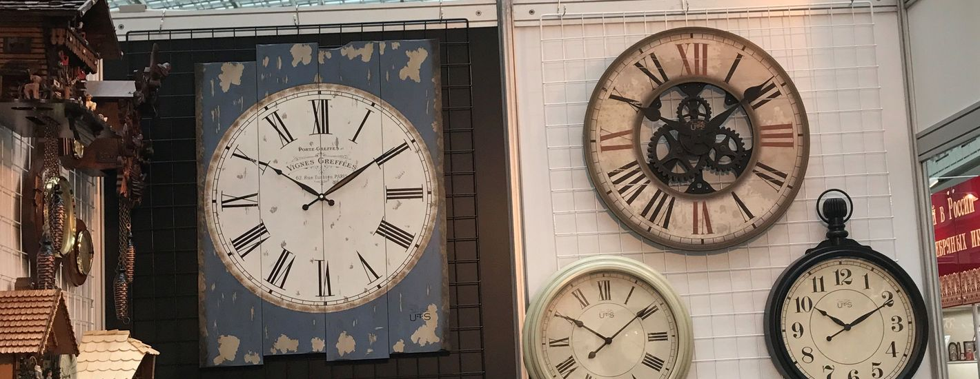 MOSCOW CLOCK AND WATCH. ВЕСНА 2019